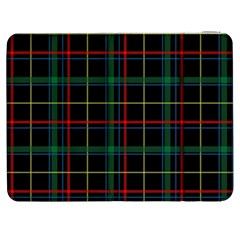Tartan Plaid Pattern Samsung Galaxy Tab 7  P1000 Flip Case