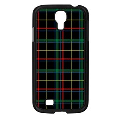Tartan Plaid Pattern Samsung Galaxy S4 I9500/ I9505 Case (Black)