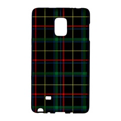 Tartan Plaid Pattern Galaxy Note Edge