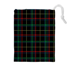 Tartan Plaid Pattern Drawstring Pouches (extra Large)