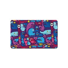 Hipster Pattern Animals And Tokyo Magnet (name Card)