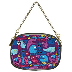 Hipster Pattern Animals And Tokyo Chain Purses (One Side)