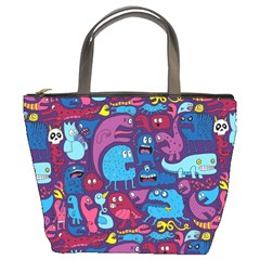 Hipster Pattern Animals And Tokyo Bucket Bags