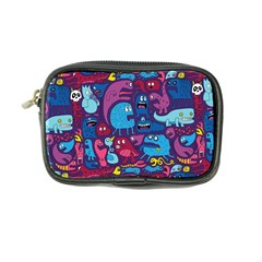 Hipster Pattern Animals And Tokyo Coin Purse