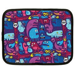 Hipster Pattern Animals And Tokyo Netbook Case (xxl)