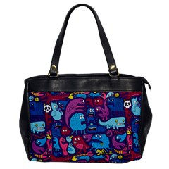 Hipster Pattern Animals And Tokyo Office Handbags