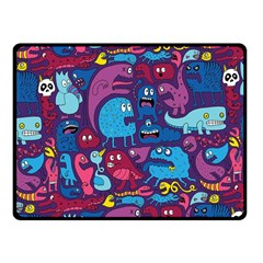 Hipster Pattern Animals And Tokyo Fleece Blanket (Small)