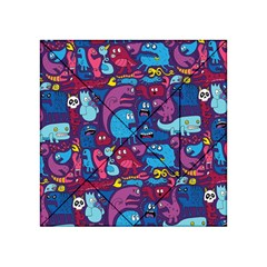Hipster Pattern Animals And Tokyo Acrylic Tangram Puzzle (4  x 4 )