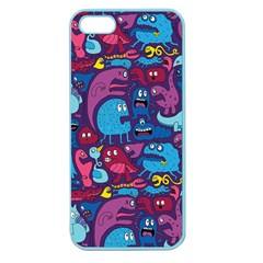 Hipster Pattern Animals And Tokyo Apple Seamless Iphone 5 Case (color)