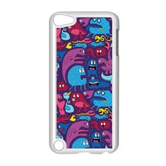 Hipster Pattern Animals And Tokyo Apple iPod Touch 5 Case (White)