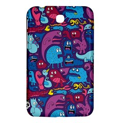 Hipster Pattern Animals And Tokyo Samsung Galaxy Tab 3 (7 ) P3200 Hardshell Case