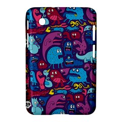Hipster Pattern Animals And Tokyo Samsung Galaxy Tab 2 (7 ) P3100 Hardshell Case