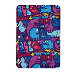 Hipster Pattern Animals And Tokyo Samsung Galaxy Tab 2 (10.1 ) P5100 Hardshell Case