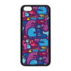Hipster Pattern Animals And Tokyo Apple Iphone 5c Seamless Case (black)