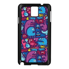 Hipster Pattern Animals And Tokyo Samsung Galaxy Note 3 N9005 Case (black)