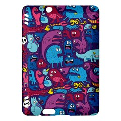Hipster Pattern Animals And Tokyo Kindle Fire HDX Hardshell Case