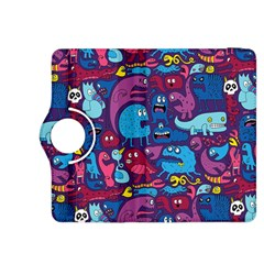Hipster Pattern Animals And Tokyo Kindle Fire HDX 8.9  Flip 360 Case