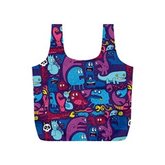 Hipster Pattern Animals And Tokyo Full Print Recycle Bags (s)