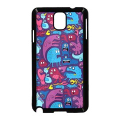 Hipster Pattern Animals And Tokyo Samsung Galaxy Note 3 Neo Hardshell Case (Black)