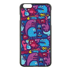 Hipster Pattern Animals And Tokyo Apple Iphone 6 Plus/6s Plus Black Enamel Case