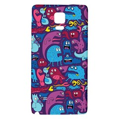 Hipster Pattern Animals And Tokyo Galaxy Note 4 Back Case