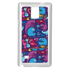 Hipster Pattern Animals And Tokyo Samsung Galaxy Note 4 Case (white)