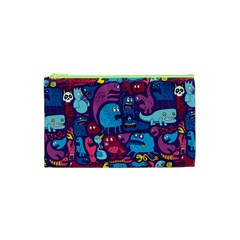 Hipster Pattern Animals And Tokyo Cosmetic Bag (XS)