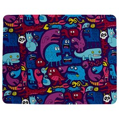 Hipster Pattern Animals And Tokyo Jigsaw Puzzle Photo Stand (Rectangular)