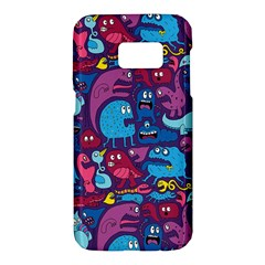 Hipster Pattern Animals And Tokyo Samsung Galaxy S7 Hardshell Case