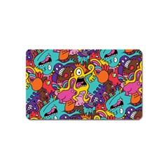 Monster Patterns Magnet (name Card)