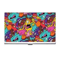 Monster Patterns Business Card Holders