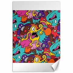 Monster Patterns Canvas 20  x 30