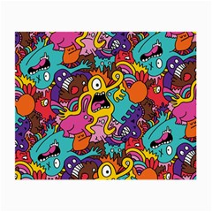Monster Patterns Small Glasses Cloth (2-Side)