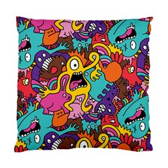 Monster Patterns Standard Cushion Case (two Sides)