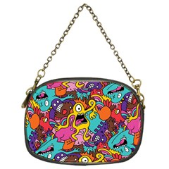 Monster Patterns Chain Purses (Two Sides)