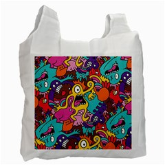 Monster Patterns Recycle Bag (Two Side)