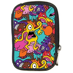 Monster Patterns Compact Camera Cases
