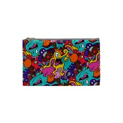 Monster Patterns Cosmetic Bag (small)