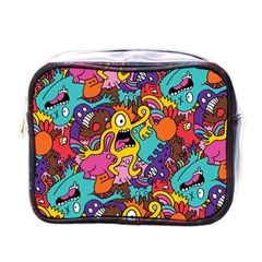 Monster Patterns Mini Toiletries Bags