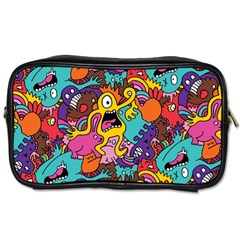 Monster Patterns Toiletries Bags 2-Side