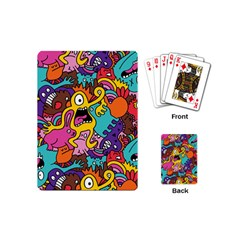 Monster Patterns Playing Cards (Mini)