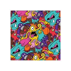 Monster Patterns Acrylic Tangram Puzzle (4  x 4 )