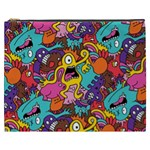 Monster Patterns Cosmetic Bag (XXXL)  Front