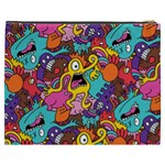 Monster Patterns Cosmetic Bag (XXXL)  Back
