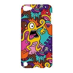 Monster Patterns Apple Ipod Touch 5 Hardshell Case