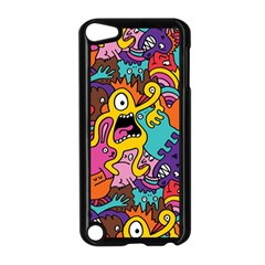 Monster Patterns Apple Ipod Touch 5 Case (black)