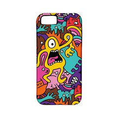 Monster Patterns Apple iPhone 5 Classic Hardshell Case (PC+Silicone)
