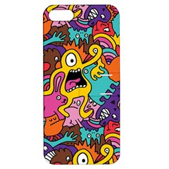 Monster Patterns Apple iPhone 5 Hardshell Case with Stand