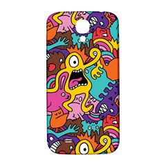 Monster Patterns Samsung Galaxy S4 I9500/I9505  Hardshell Back Case