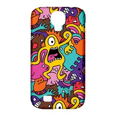 Monster Patterns Samsung Galaxy S4 Classic Hardshell Case (PC+Silicone)